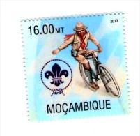 Mozambique 2013, 1 Stamp, MNH - Radsport