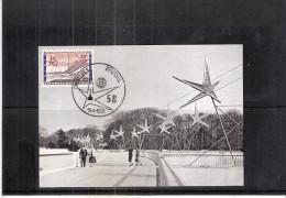 EXPO 58 Bruxelles - La Passerelle - Expositions