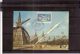 EXPO 58 Bruxelles - La Passerelle Avec Le Pavillon De La France - Expositions