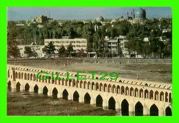 ISFAHAN, IRAN -A VIEW FROM PART OF ISFAHAN - NAGHSHO NAGAR - - Iran