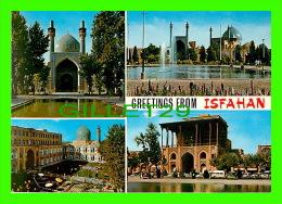 ISFAHAN,  IRAN - 4 MULTIVUES - VUES DE LA VILLE -  ED. DEHDARI - - Iran