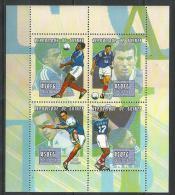 "Guinée YT 1864ABC à 1864BF Feuille "" Football "" 2000 Neuf** - Guinea (1958-...)"