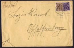 Briefe Mit MiNr 230W Und  208W - Briefe U. Dokumente