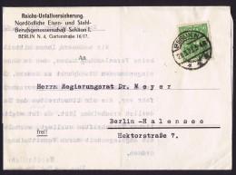 29.3.23 Lokal Briefe  Von Berlin  MiNr 232W  Einzelfrankatur - Briefe U. Dokumente