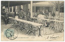 VICHY (Allier) - Souvenir Du Kursaal - Jardin De Vichy - Animée - Vichy