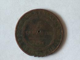 Italie 5 Centesimi 1826 - Regional Coins