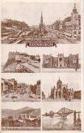 PC Edinburgh - Multi-view Card - 1953 (3444) - Midlothian/ Edinburgh