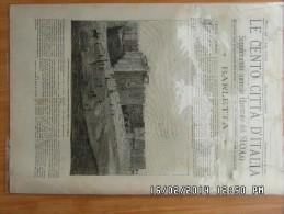 LE CENTO CITTA D ITALIA *BARLETTA - Avant 1900
