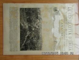 LE CENTO CITTA D ITALIA *ANAGNI* - Avant 1900