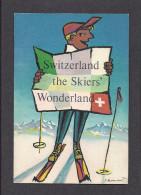 SPORTS D'HIVER - SKI - SWITZERLAND THE SKIERS WONDERLAND - PAR P. MONNANT - Sports D'hiver