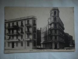 Carte Postale Ancienne  écrite En  1918 ALGERIE : Ville D' Oran - Boulevard Des Chasseurs - ND Photo N° 276 - Oran