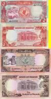 AFRICA SUDAN 2 BANCONOTE 5 10 POUNDS 1991 UNC FDS - Sudan