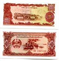 LAO LAOS 20 KIP 1979 FDS UNC - Laos