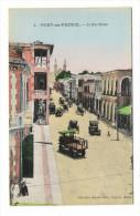 HAÏTI  /  PORT-au-PRINCE  /  LA  RUE  ROUX  ( Automobiles 1900 ) /  Edit.  Benoît  COUBA  N° 4 - Haiti