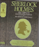 Doyle Sherlock Holmes The Complete Illustrated Novels  Chancellor Press  Relie 496 Pages - Polars