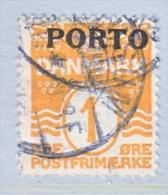 DENMARK   J 1   (o) - Postage Due