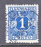 DENMARK   J 22   (o) - Postage Due