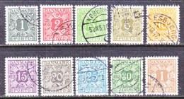 DENMARK   J 25+   (o) - Postage Due