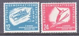 DDR   76-7  *     Sports  Toboggan  Ski Jump - [6] Democratic Republic
