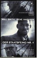 VHS Video  -  Der Staatsfeind Nr. 1  -  Mit : Will Smith, Gene Hackman, Jon Voight  -  Von 1998 - Krimis & Thriller