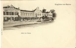 ENGHIEN-LES-BAINS (95) - THERMALISME - HÔTEL / RESTAURANT : Hôtel Des Bains. CPA Précurseurs. - Enghien Les Bains