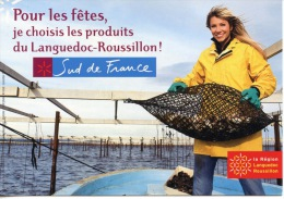 """Ostréiculture - (femme Métiers) Languedoc Roussillon : Région Entreprises Producteurs """"pour Les Fêtes Je Choisis... - Pesca"""
