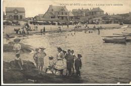 BOURG DE BATZ-La Plage Vers  Le Monolithe 214 - Batz-sur-Mer (Bourg De B.)