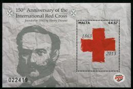 Malta (2013) - Block - /  Rote Kreuz - Red Cross - Croix Rouge - Croce Rossa - Rode Kruis