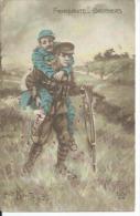 278 - FRATERNITE-BROTHERS ( Déssin: Albert BEERTS  ) - War 1914-18
