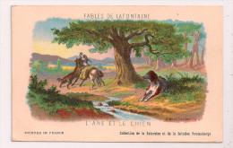 Fables De La FONTAINE - L'ANE ET LE CHIEN - Illustrateur Gustave DORÉ - Collection Kolarsine Et Pautauberge - Contes, Fables & Légendes