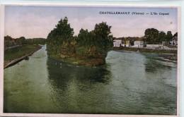 CPA 86 CHATELLERAULT L ILE COGNET - Chatellerault