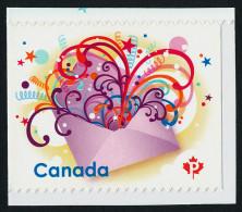 CANADA, 2009. # 2314. CELEBRATION, ENVELOPPE, RUBAN, CELEBRATION In The Mail/ SINGLE  MNH - Carnets