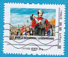"Montimbramoi, Lettre Verte.20gr ""Jean Le Bucheron - Steenvoorde"" Used - France"