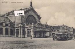 LIEGE  LA GARE DES GUILLEMINS - Luik