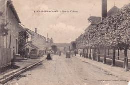 ROCHES BETTAINCOURT ROCHES SUR ROGNON Rue Du Château Animé Ecrit Est Sur Cette Vue Lire Verso - Other Municipalities