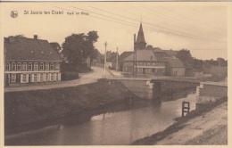 Beernem   Sint-Joris ten distel   Kerk en brug             Scan 7086