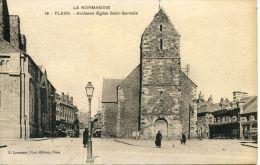 N°37941 -cpa Flers -ancienne église Saint Germain- - Flers