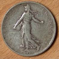 2 Francs Semeuse 1899 - France
