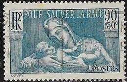 N° 419   FRANCE OBLITERES - La Prophilaxie Sanitaire  1939 - France