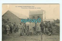 Br - 56 - GUER COETQUIDAN - GUERRE EUROPEENNE 1914 - Corvée D´eau  - Prisonniers Allemands - édit. Vasselier NANTES - Guer Coetquidan
