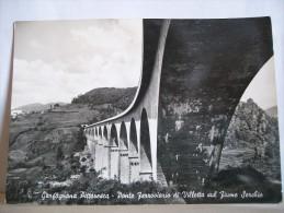 VG 1961 - Lucca - Garfagnana Pittoresca - Ponte Ferroviario Di Villetta Sul Fiume Serchio - Ponti -  2 Scans. - Ouvrages D'Art