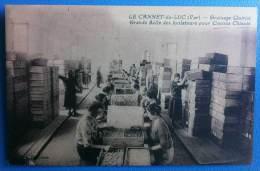 La Cannet Du Luc - Grainage Quirici - Grande Salle Des Isolateurs Pour Cocons Chinois - France