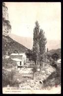 CPA  ANCIENNE- FRANCE- GORGES D'OMBLEZE (26)- LE MOULIN DE LA PIPE EN GROS PLAN- PONT DE PIERRE - Frankreich
