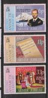 British Antarctic Territory 1977 QEII Silver Jubilee Set 3 MNH - British Antarctic Territory  (BAT)