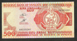 [NC] VANUATU  - CENTRAL BANK Of VANUATU - 500 VATU - Vanuatu