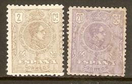 1920 EDIFIL 289/0* ALFONSO XIII MEDALLON - Nuevos