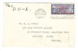 Neufoundland DO-X Flugpostbrief  May-19-1932 St Johns N'FLD Nach Hastings England - Neufundland