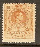 1909 EDIFIL 280* ALFONSO XIII MEDALLON - Nuevos