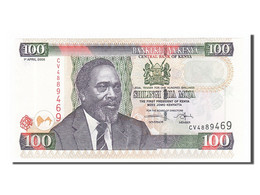 Kenya, 100 Shillings Type Arap Moi - Kenya