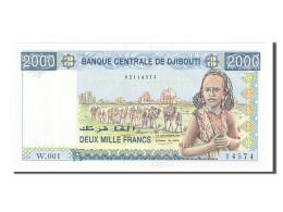 Djibouti, 2000 Francs Type 2002 - Djibouti